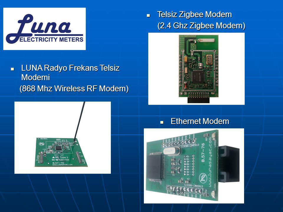 Telsiz Zigbee Modem (2.4 Ghz Zigbee Modem) LUNA Radyo Frekans Telsiz Modemi. (868 Mhz Wireless RF Modem)