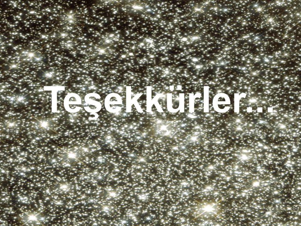 Yıldız kümeleri. Çok sık. Teşekkürler...
