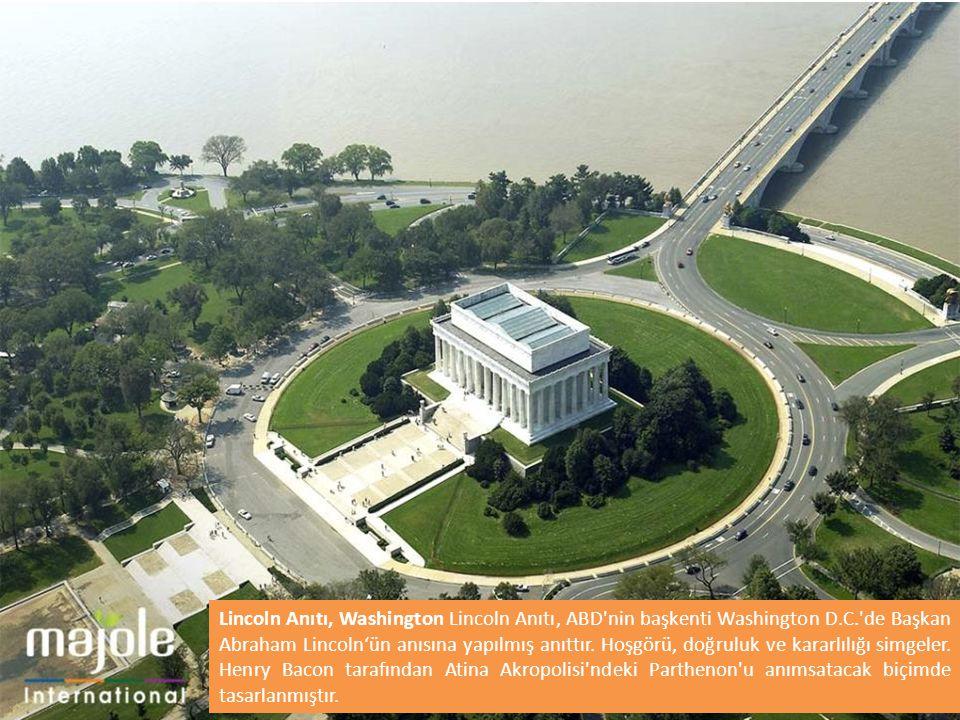 Lincoln Anıtı, Washington Lincoln Anıtı, ABD nin başkenti Washington D