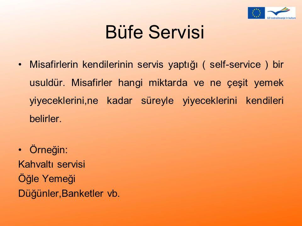Büfe Servisi