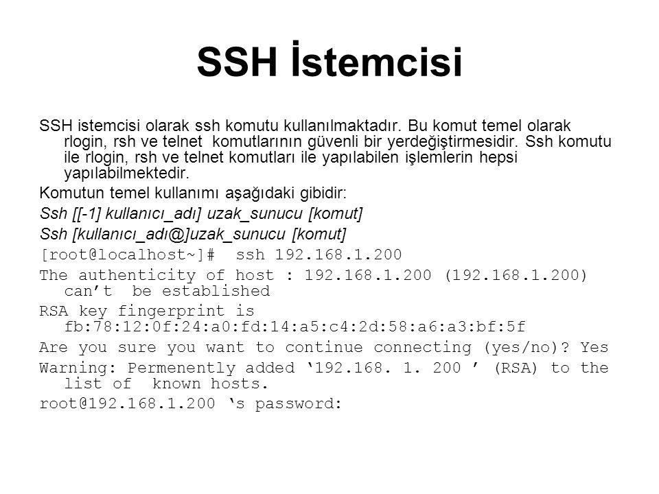 SSH İstemcisi