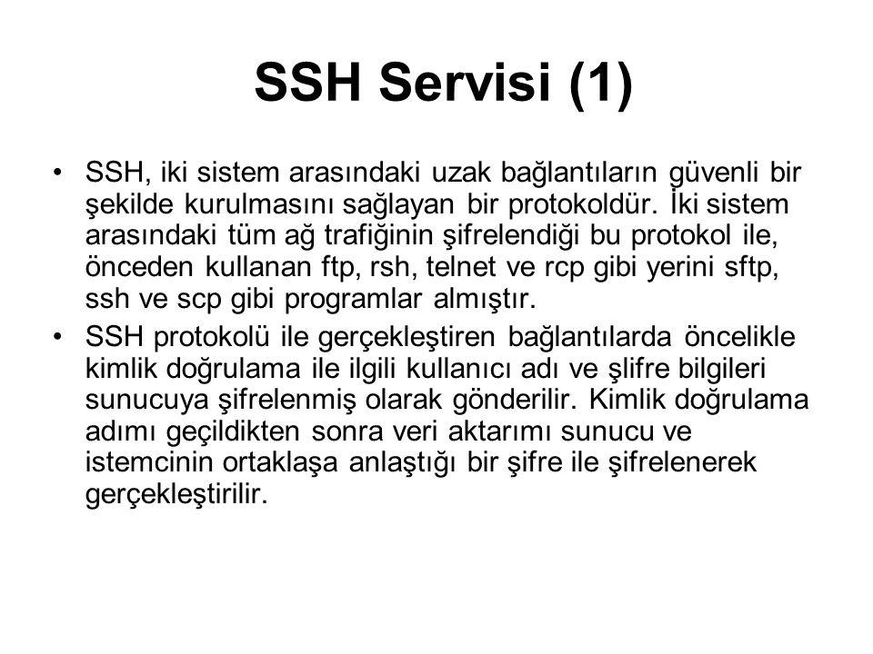 SSH Servisi (1)