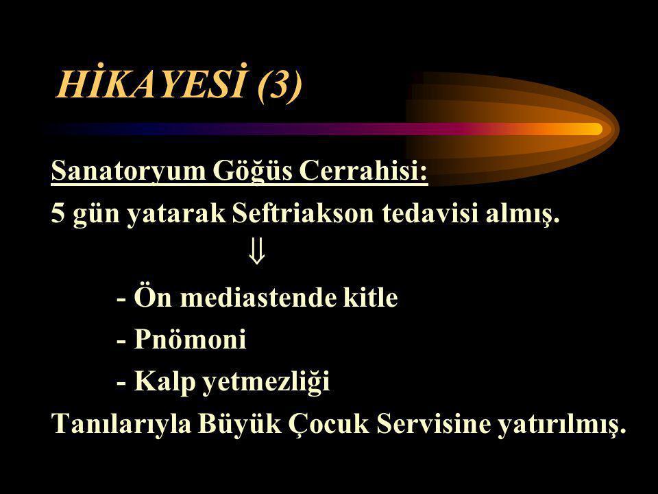 HİKAYESİ (3) Sanatoryum Göğüs Cerrahisi:
