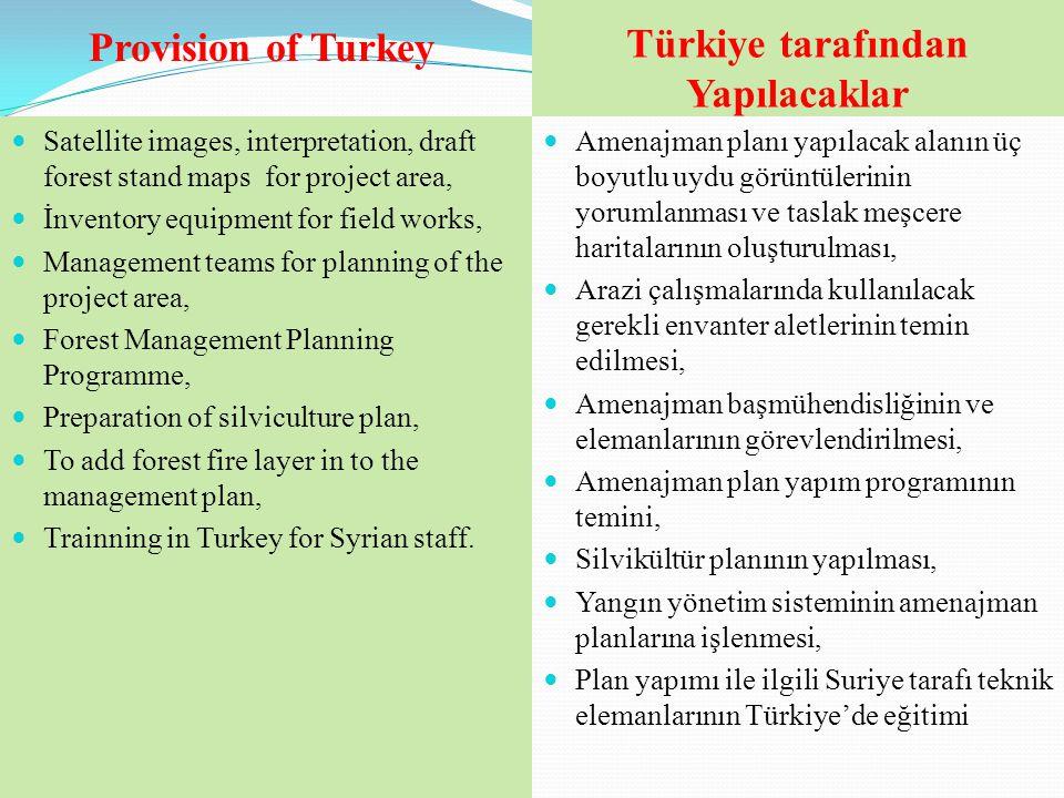 Türkiye tarafından Yapılacaklar