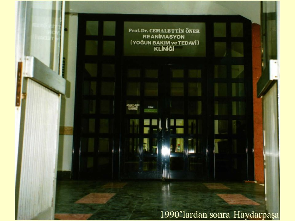 1990'lardan sonra Haydarpaşa
