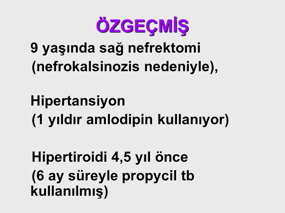 ÖZGEÇMİŞ (nefrokalsinozis nedeniyle), Hipertansiyon