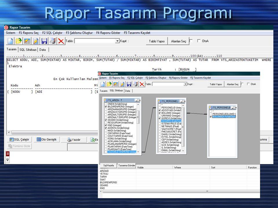 Rapor Tasarım Programı