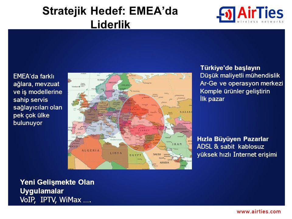 Stratejik Hedef: EMEA'da Liderlik