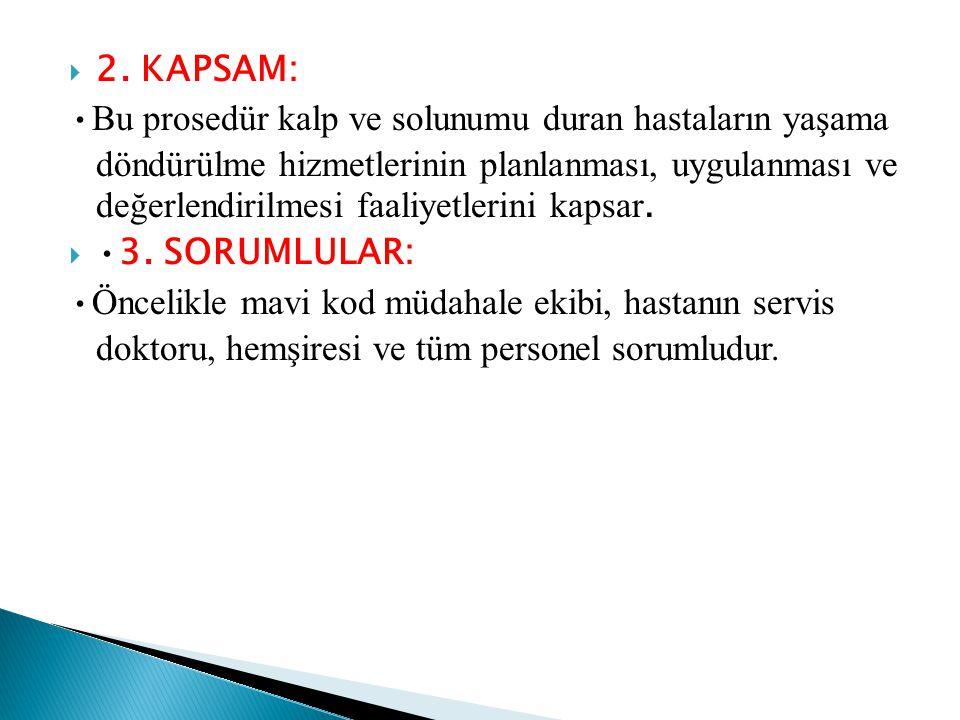 2. KAPSAM: