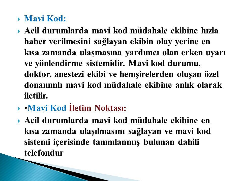 Mavi Kod: