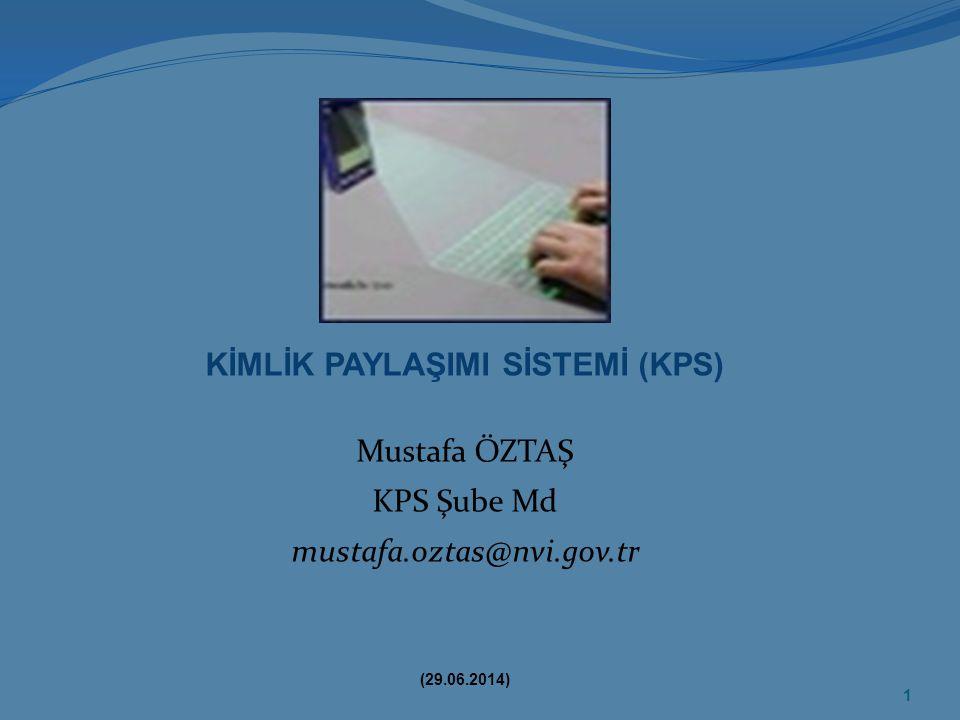 KİMLİK PAYLAŞIMI SİSTEMİ (KPS)