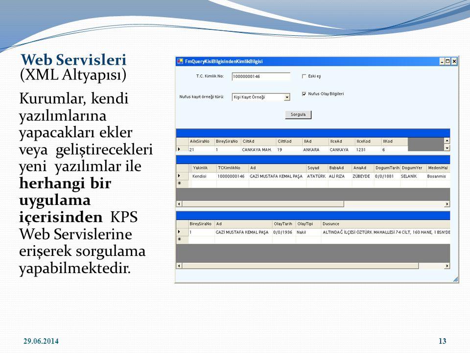 Web Servisleri (XML Altyapısı)
