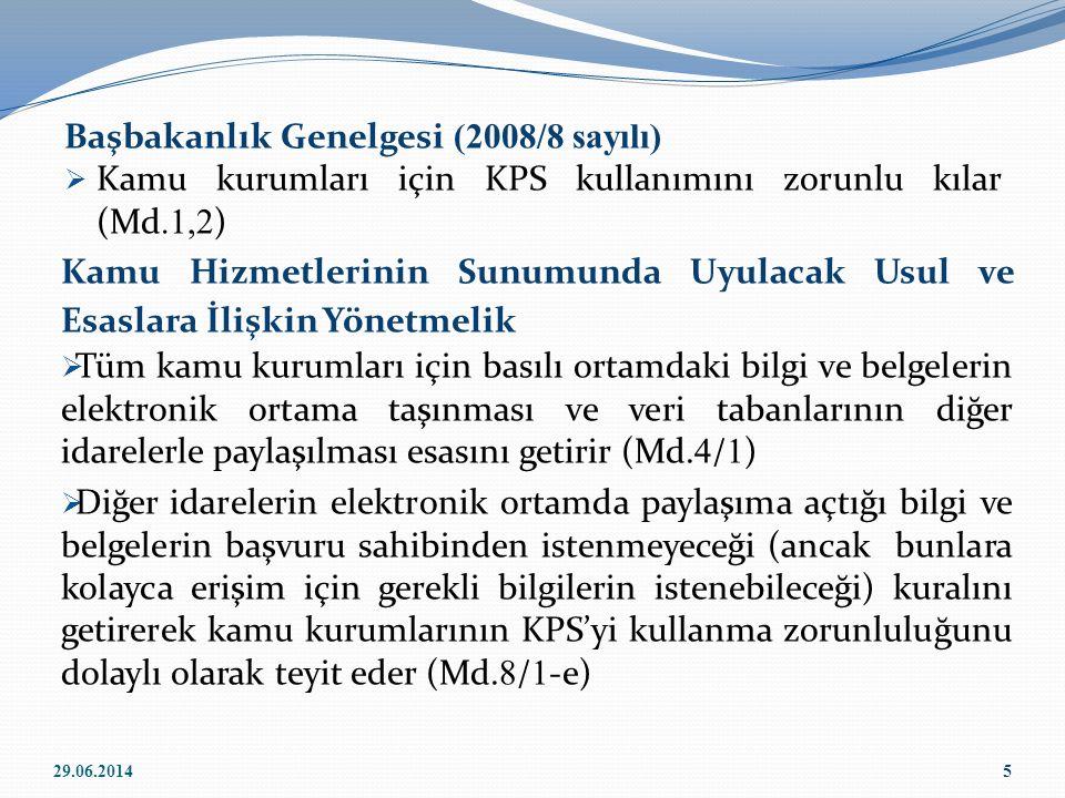 Başbakanlık Genelgesi (2008/8 sayılı)