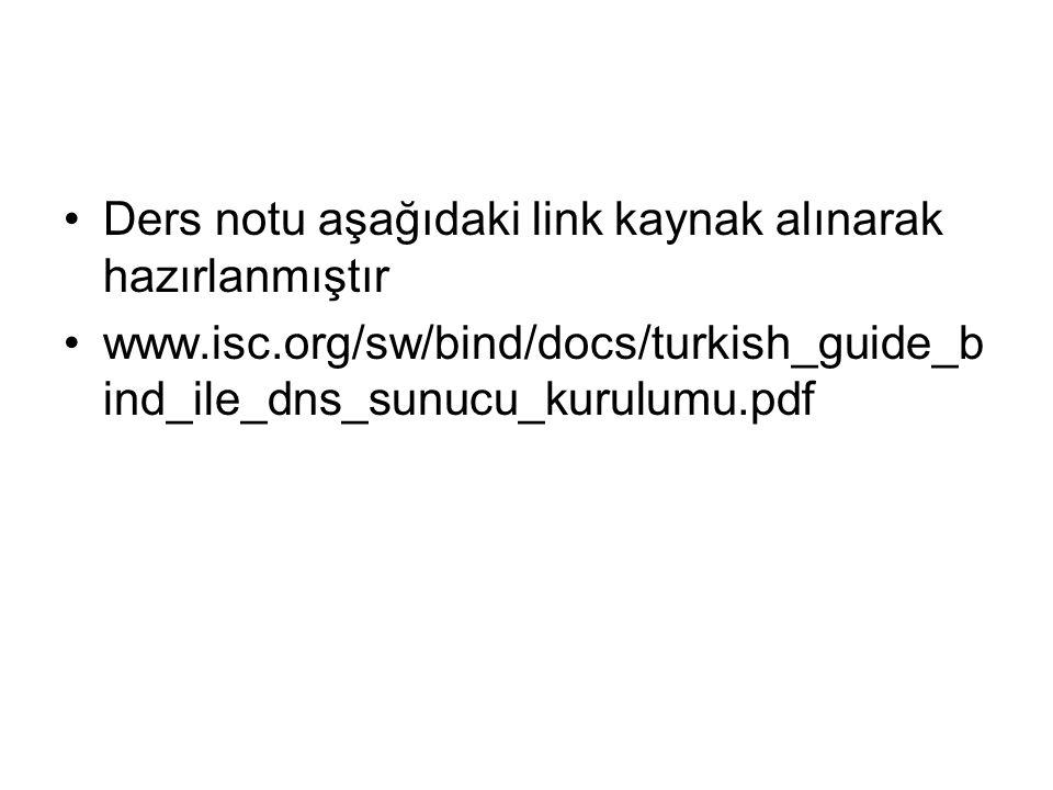 Ders notu aşağıdaki link kaynak alınarak hazırlanmıştır