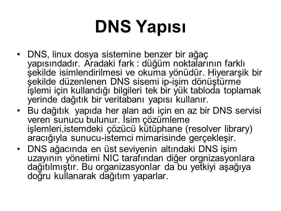 DNS Yapısı