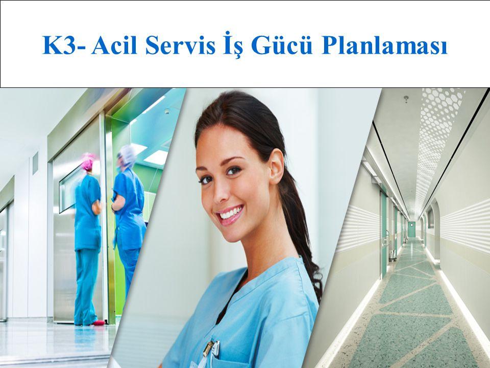 K3- Acil Servis İş Gücü Planlaması