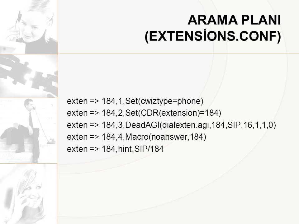 ARAMA PLANI (EXTENSİONS.CONF)