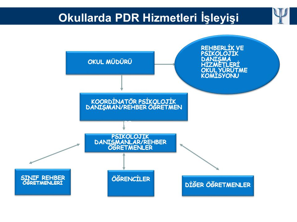 Okullarda PDR Hizmetleri İşleyişi