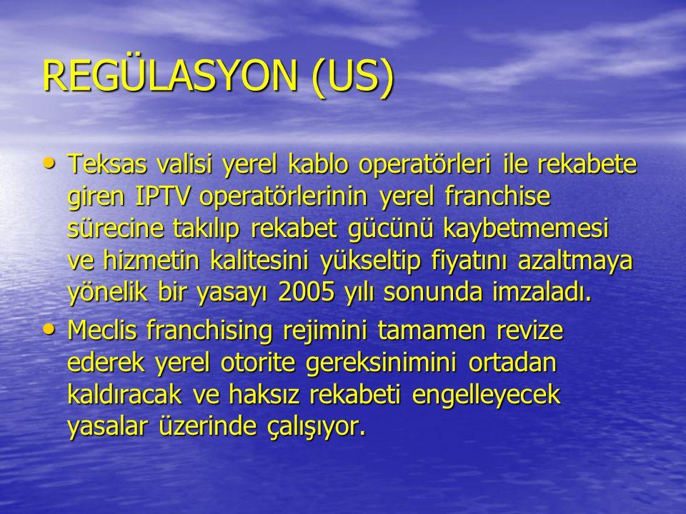 REGÜLASYON (US)