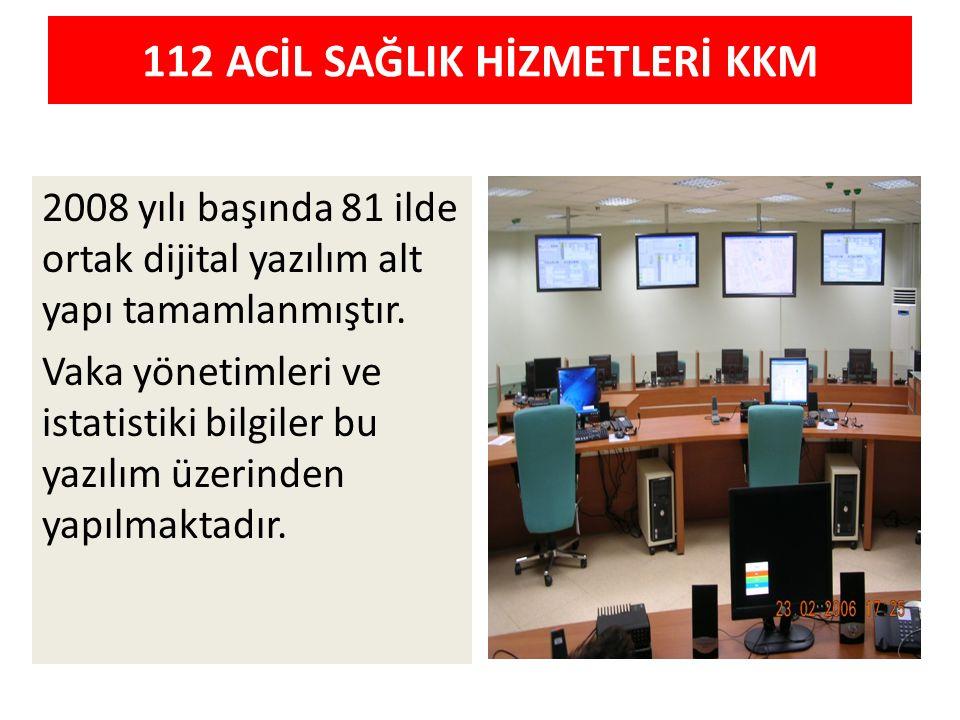 112 ACİL SAĞLIK HİZMETLERİ KKM