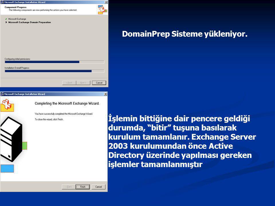 DomainPrep Sisteme yükleniyor.