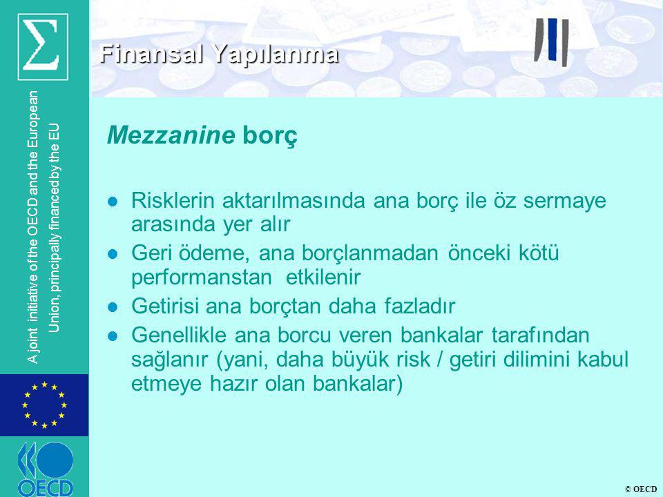Finansal Yapılanma Mezzanine borç