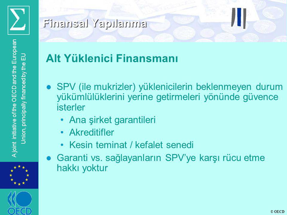 Alt Yüklenici Finansmanı