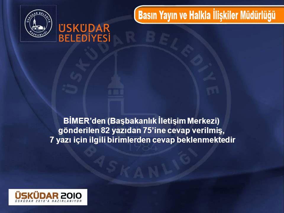BİMER'den (Başbakanlık İletişim Merkezi)
