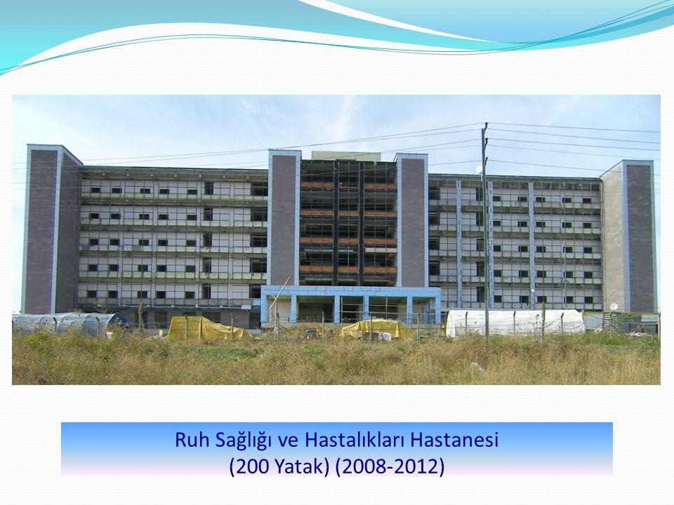Ruh Sağlığı ve Hastalıkları Hastanesi (200 Yatak) (2008-2012)