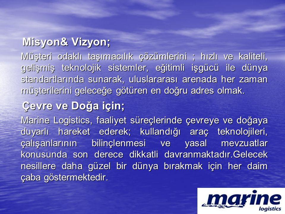 Misyon& Vizyon;