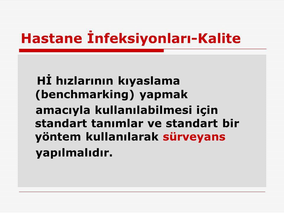 Hastane İnfeksiyonları-Kalite