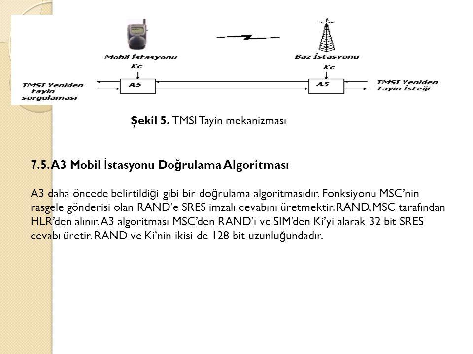 Şekil 5. TMSI Tayin mekanizması