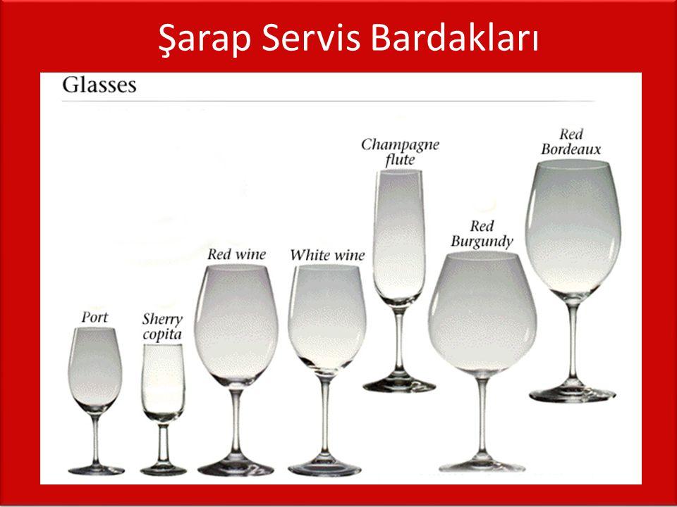 Şarap Servis Bardakları