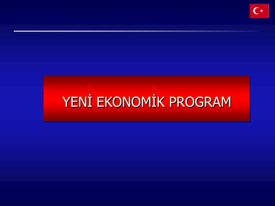 YENİ EKONOMİK PROGRAM