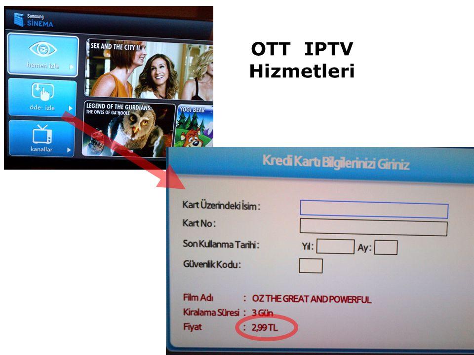 OTT IPTV Hizmetleri