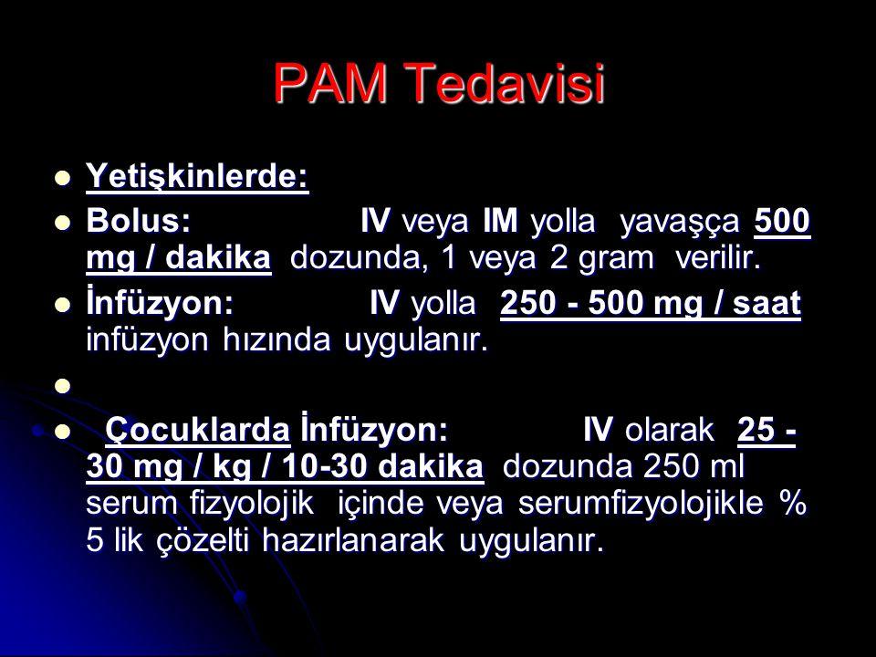 PAM Tedavisi Yetişkinlerde: