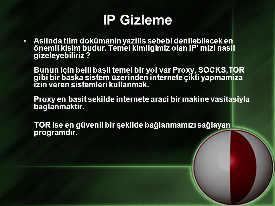 IP Gizleme