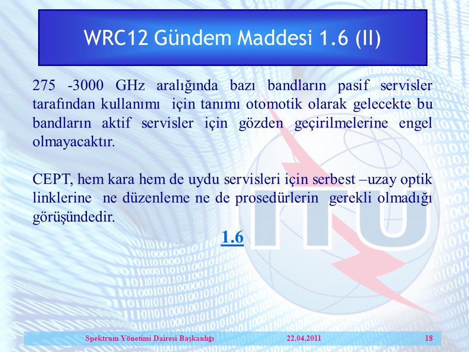 WRC12 Gündem Maddesi 1.6 (II)