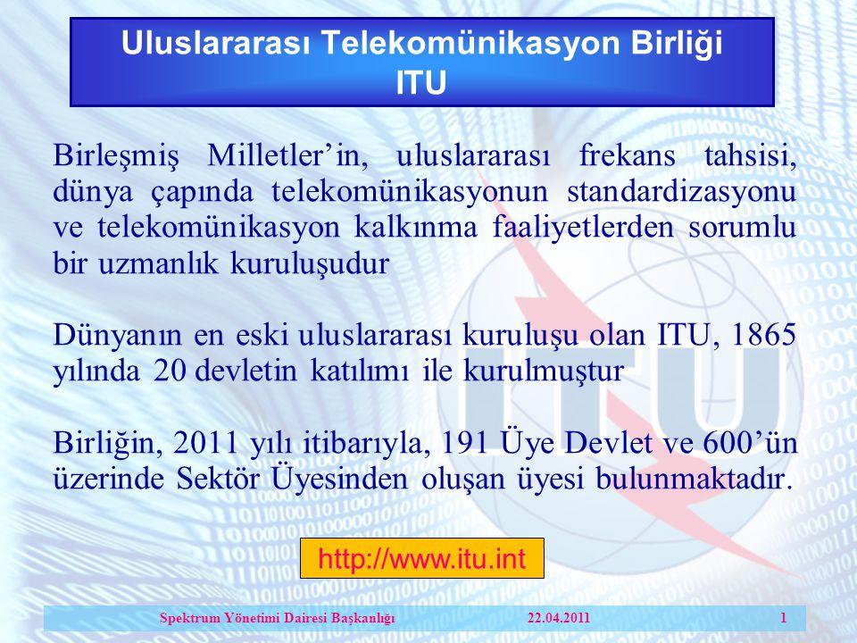 Uluslararası Telekomünikasyon Birliği ITU