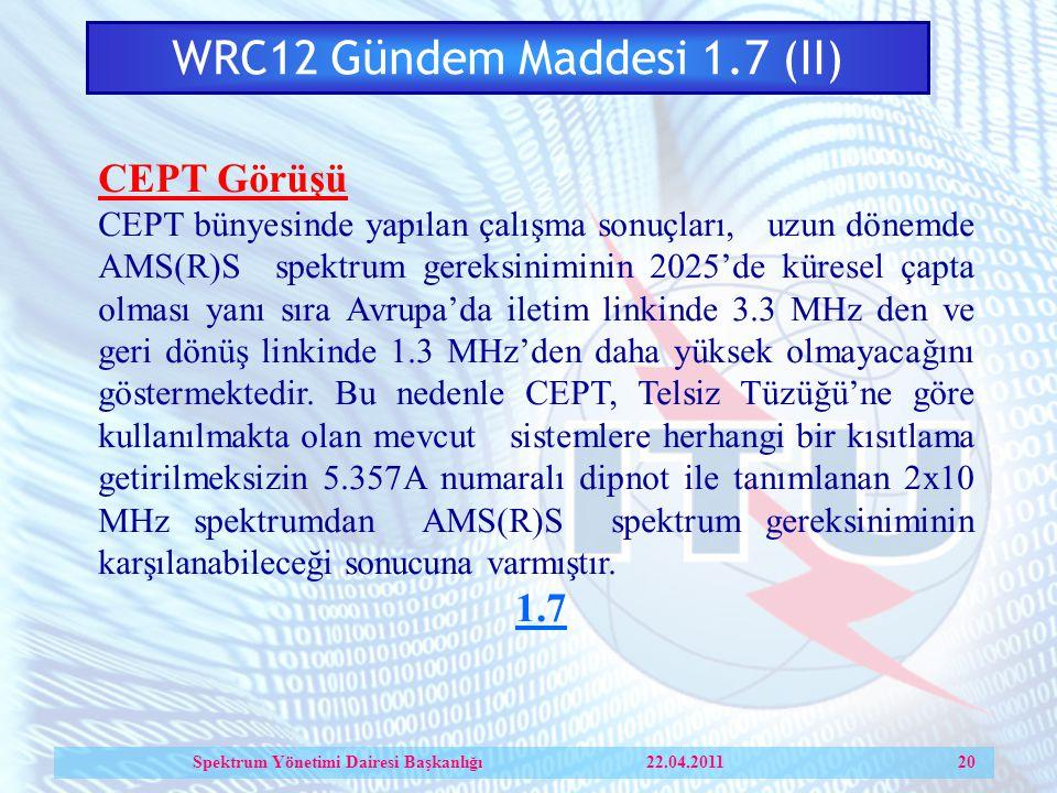 WRC12 Gündem Maddesi 1.7 (II)