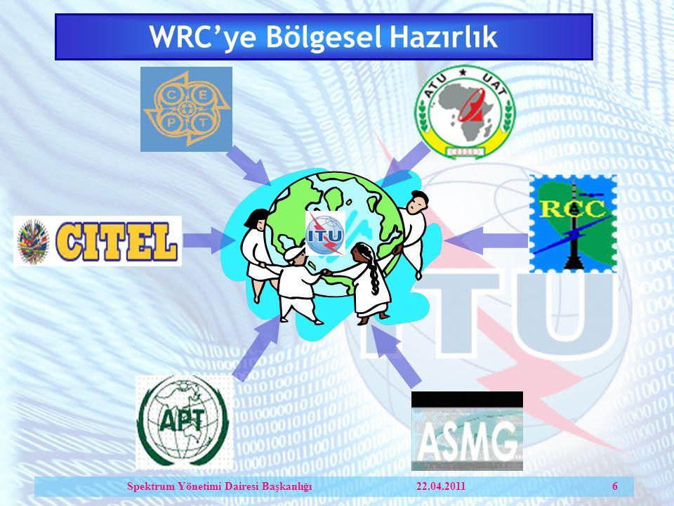 WRC'ye Bölgesel Hazırlık