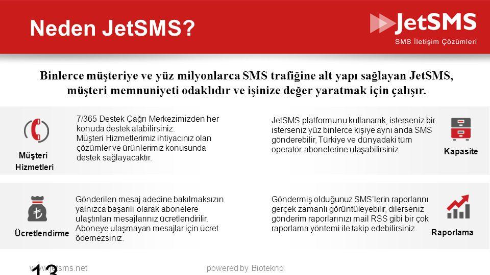 Neden JetSMS