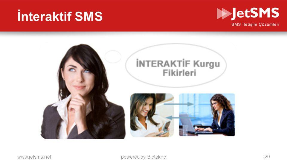 İnteraktif SMS