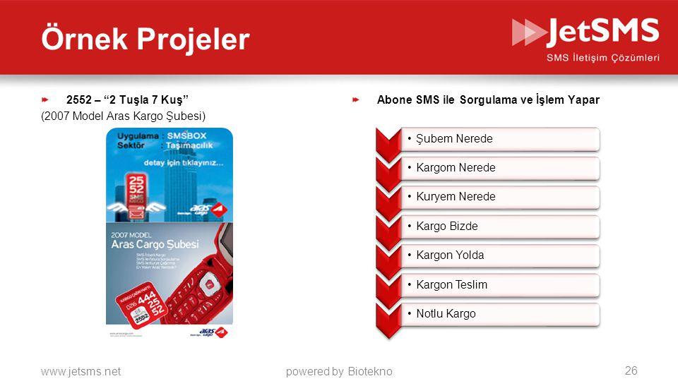Örnek Projeler 2552 – 2 Tuşla 7 Kuş (2007 Model Aras Kargo Şubesi)