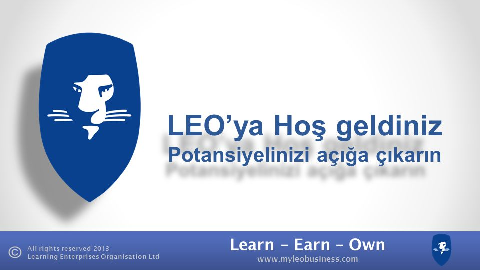 LEO'ya Hoş geldiniz Potansiyelinizi açığa çıkarın