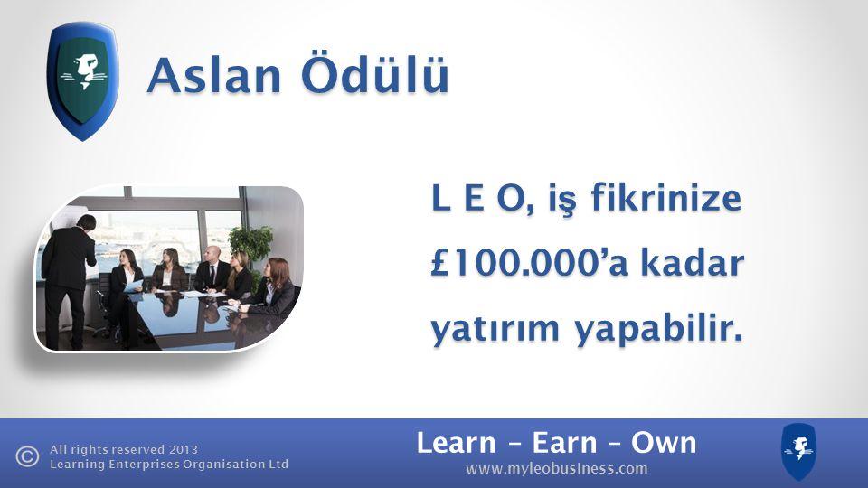 £100.000'a kadar yatırım yapabilir.