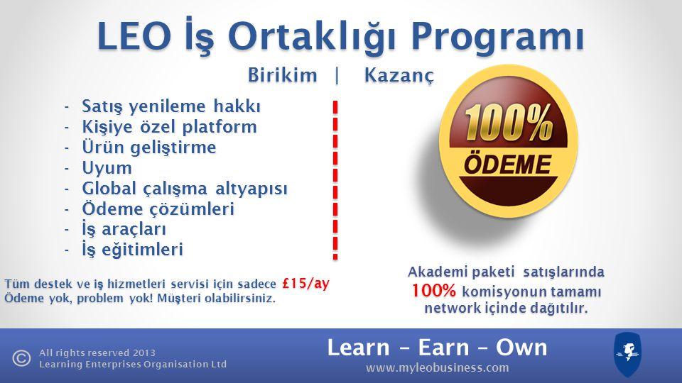 LEO İş Ortaklığı Programı