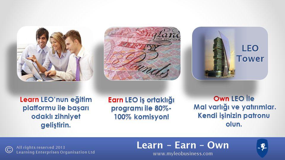 LEO Tower Learn LEO'nun eğitim platformu ile başarı odaklı zihniyet geliştirin. Earn LEO iş ortaklığı programı ile 80%-100% komisyon!