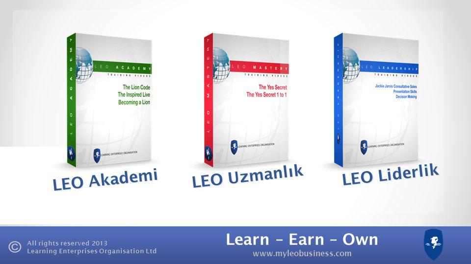 LEO Akademi LEO Uzmanlık LEO Liderlik