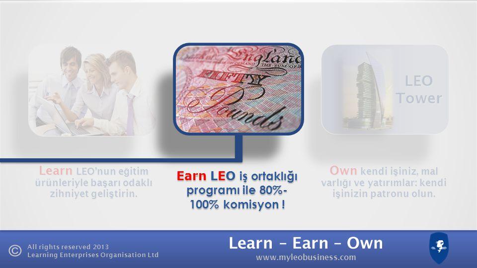 LEO Tower Learn LEO'nun eğitim ürünleriyle başarı odaklı zihniyet geliştirin.